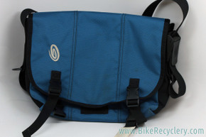 Timbuk2 Custom Classic Commuter Messenger Bag: Blue (Almost New)