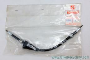 "NIB/NOS Schwinn / Huret Speedometer Drive Cable: Inner & Outer - Black - 10"""
