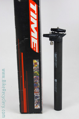 TIME(?) Carbon Seatpost: 143g! 27.2mm x 260mm - Black - Setback (NEW)