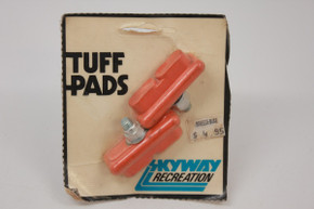 NOS/NIB Skyway Recreation Tuff Pads: Orange, One Pair