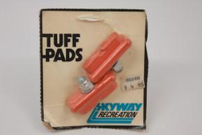 NOS/NIB Skyway Recreation Tuff Pads: Orange, One Pair