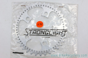 NOS/NIB Stronglight BIS 80 & 99 Chainring: Factory Drilled - 36t - 86mm BCD
