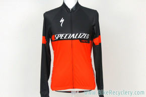 2017 Pro Team-Issued Specialized SL Pro Long Sleeve Jersey: Medium - Lightweight - World Champ Stripes / Red / White (NEW)