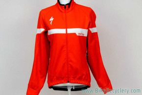 Pro Team-Issued Specialized SL Pro Gore Windstopper Jacket: Medium  - Red / White (NEW)