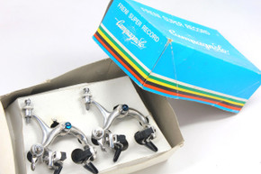 Campagnolo C-Record COBALTO Brakeset: Mounted on Show Bike & MINT - Front/Rear Pair