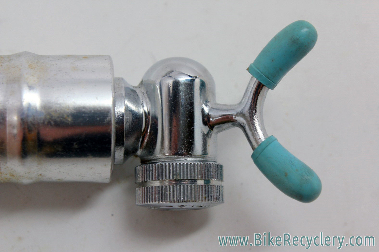 New-Old-Stock Silca Pump Head...Plastic with Chrome Finish and Rubber Feet
