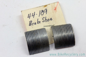 NOS Shimano D-Type Coaster Brake Shoes: 44-189 (Pair)