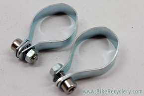 NIB/NOS Vintage Bottle Cage Clamps: 1970's 1980's (Pair)