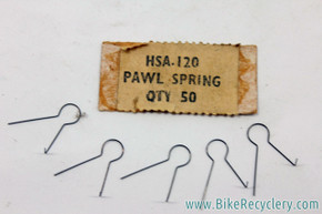 (5) NOS Sturmey Archer Pawl Spring: HSA 120 - Lot of 5