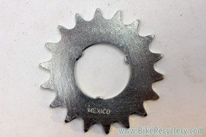 NOS Bendix Coaster Brake 18t Sprocket / Cog: Mexico - Silver