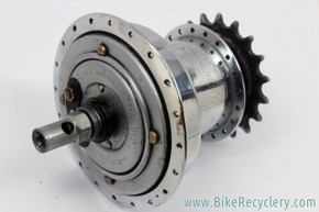 Sturmey Archer AG Three DynoHub: 1950's - 40H x 18t - Dynamo Generator (FOR PARTS)