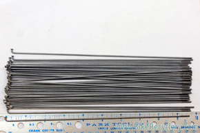 "NOS Schwinn Spokes: 9 5/8"" x 0.8mm Straight Gauge - 24"" For S7, Typhoon & Skipper (Lot of 53)"