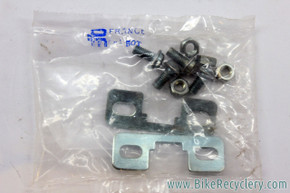 Christophe Toe Clip Mounting Hardware: Plates & Bolts (NIB/NOS Pair)
