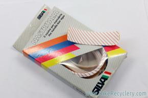 NIB/NOS SILVA Nastritalia Handlebar Tape: Peppermint Stripe White & Red - Vintage 1990's