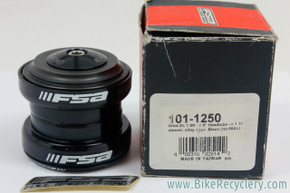 "FSA Orbit Dl 1.5R Headset: Reducer 1.5"" to 1 1/8' - Black (NEW)"