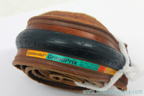 NOS Continental Grand Prix Gumwall Tire: Vintage 1980's - 700c x 20mm - Folding