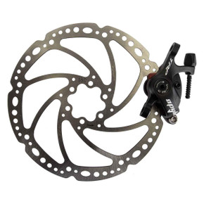 TRP Spyke Mechanical Disc Brake Caliper: 180mm Rotor -MTB - Post Mount (NEW)
