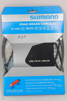 Shimano Dura Ace BC-9000 Polymer Coated Road Brake Cable & Housing Set: Black (NEW)
