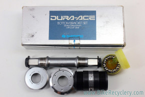 NIB/NOS Shimano Dura Ace BB-7400 Bottom Bracket: 113mm x 70mm - Italian