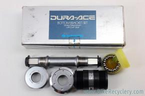 NIB/NOS Shimano Dura Ace BB-7400 Bottom Bracket: 113mm x 70mm - Italian