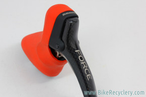SRAM Force Double Tap Shifter: Left/Front Double Only - Red Hood - Carbon (NEW)
