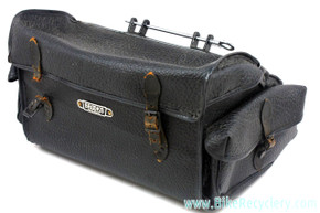 1950's Brooks Mossbrook Holdall SaddleBag: Quick Release Attachment - RARE (Near Mint)