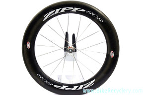 ZIPP 808 Dimpled Carbon Rear Wheel: Tubular - 700c - 18H - Shimano/SRAM (Near Mint)