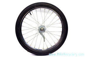 "Schwinn S2 20"" Wheel w/ Stingray Slik & Bendix RB-2 Red Band Hub: 28H (EXC)"