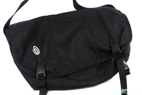 NEW Timbuk2 Classic Commuter Messenger Bag: Large - Black - Waterproof Inner