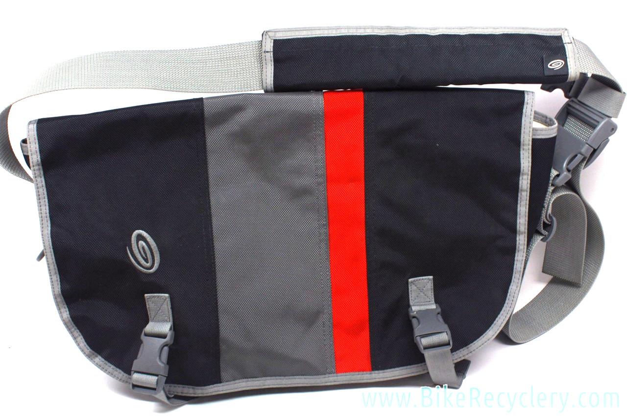e2f59bb983c9 Timbuk2 Custom Classic Commuter Messenger Bag  L XL - Black Grey Red ...