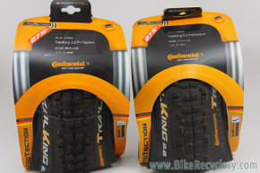 "Continental Trail King 27.5"" x 2.2 Tires Pair: ProTection - Black Chili Compound (NEW)"