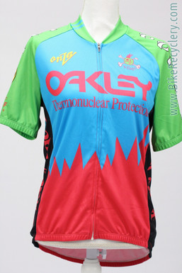 Fat Chance Yo Eddy / Oakley Thermonuclear Protection Retro Team Jersey: Medium (NEW)