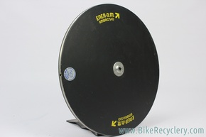 Ambrosio Ener-n.m. Mod Record Francesco Moser Hour Record Lenticular Disc Wheel: Fiberglass (for display only)