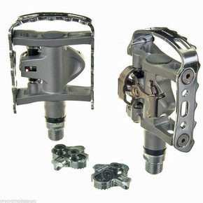 Shimano PD-M324 Dual Sided Clipless Pedals w/ Cleats (NEW)