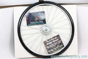 "Bicycle Wheel Collage Picture Frame: Wall Hanging - 18"" (NEW)"