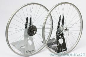 "Araya VP-20 / Suntour 26"" MTB Wheelset: 36H x 130mm - Suntour 7sp Wide Range Freewheel - QR (EXC)"