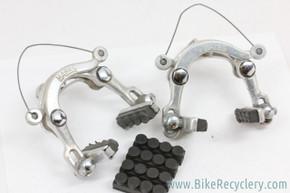 Mafac Racer Centerpull Brakeset: Black Nylon Bushings - Straddle Cables - NOS Pads (EXC)