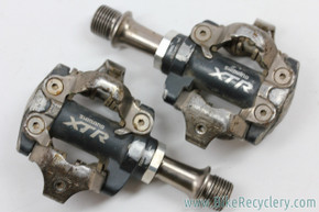 Shimano XTR PD-M970 SPD Clipless Pedals: Ti (EXC, Bearings feel new)