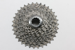 Shimano XTR CS-M960 9 Speed Cassette: 12-34t - Ti & Alloy (near mint)