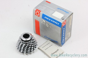 NIB/NOS Campagnolo Record 8-Speed EXA Drive Cassette: 12-19t - Lockring