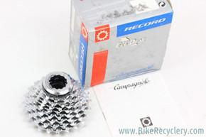 NIB/NOS Campagnolo Record 8-Speed EXA Drive Cassette: 12-23t - Lockring
