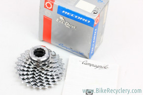 NIB/NOS Campagnolo Record 8-Speed EXA Drive Cassette: 12-25t - Lockring
