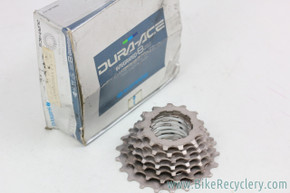 NIB/NOS Shimano Dura Ace 8 Speed HG Cassette: 13-21t *Missing 12t & Lockring