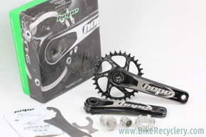Hope Spiderless Crankset: 175mm - 32t  1x - 83mm BB - Black - Tools (EXC)
