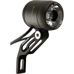 Supernova E3 Pure 3 Dynamo Headlight: Black - Multimount (NEW in tin )
