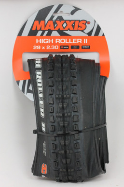 "Maxxis High Roller II 29 x 2.3"" Tire: EXO - 3C - TR (NEW)"