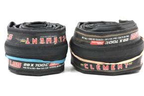Clement Strada LGG 700 x 28C Tires: 120 TPI - PAIR (>200 Miles)