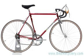 1980's Colnago Super Steel Road Bike: 56cm - Saronni Red - Chrome Lugs - Panto Super Record Gruppo (EXC+ Preserved Original Paint/Decals)