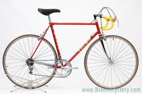 1984 OLMO Competition Leader Aero Race Bike: ~56cm - Panto Super Record Gruppo - Columbus Air (EXC+ Preserved Original Paint/Decals)