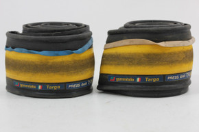 Gommitalia Targa K Tires: 700x23 - Yellow & Black (PAIR - EXC)